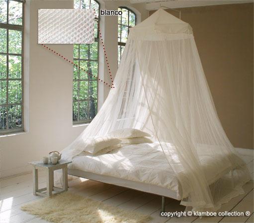 Mosquitero classic royale con dosel para camas de gran tama o for Mosquiteras para camas