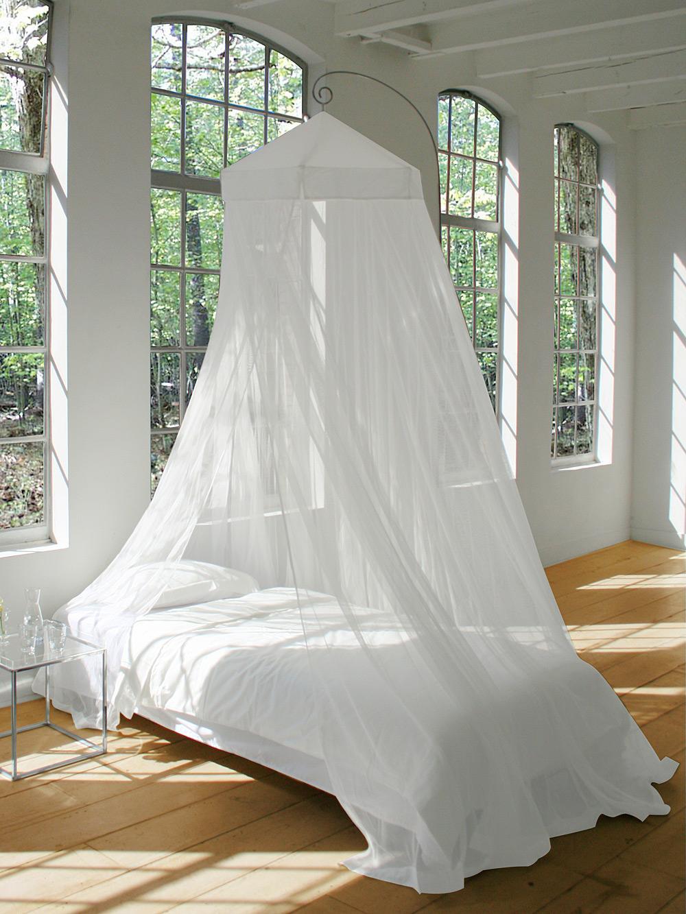 moustiquaire de lit circulaire. Black Bedroom Furniture Sets. Home Design Ideas