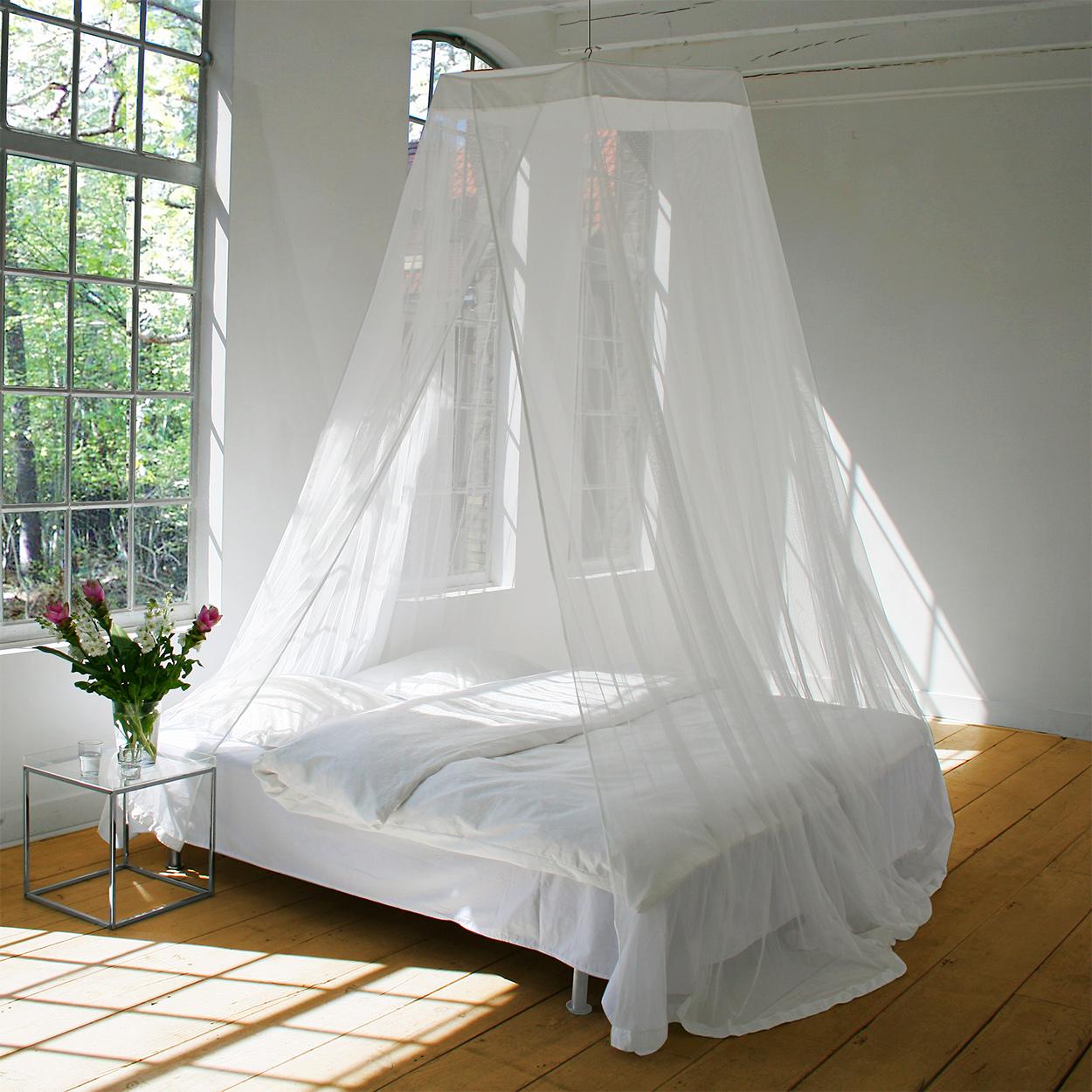 insektnet til seng Runde moskitonet insektnet til seng