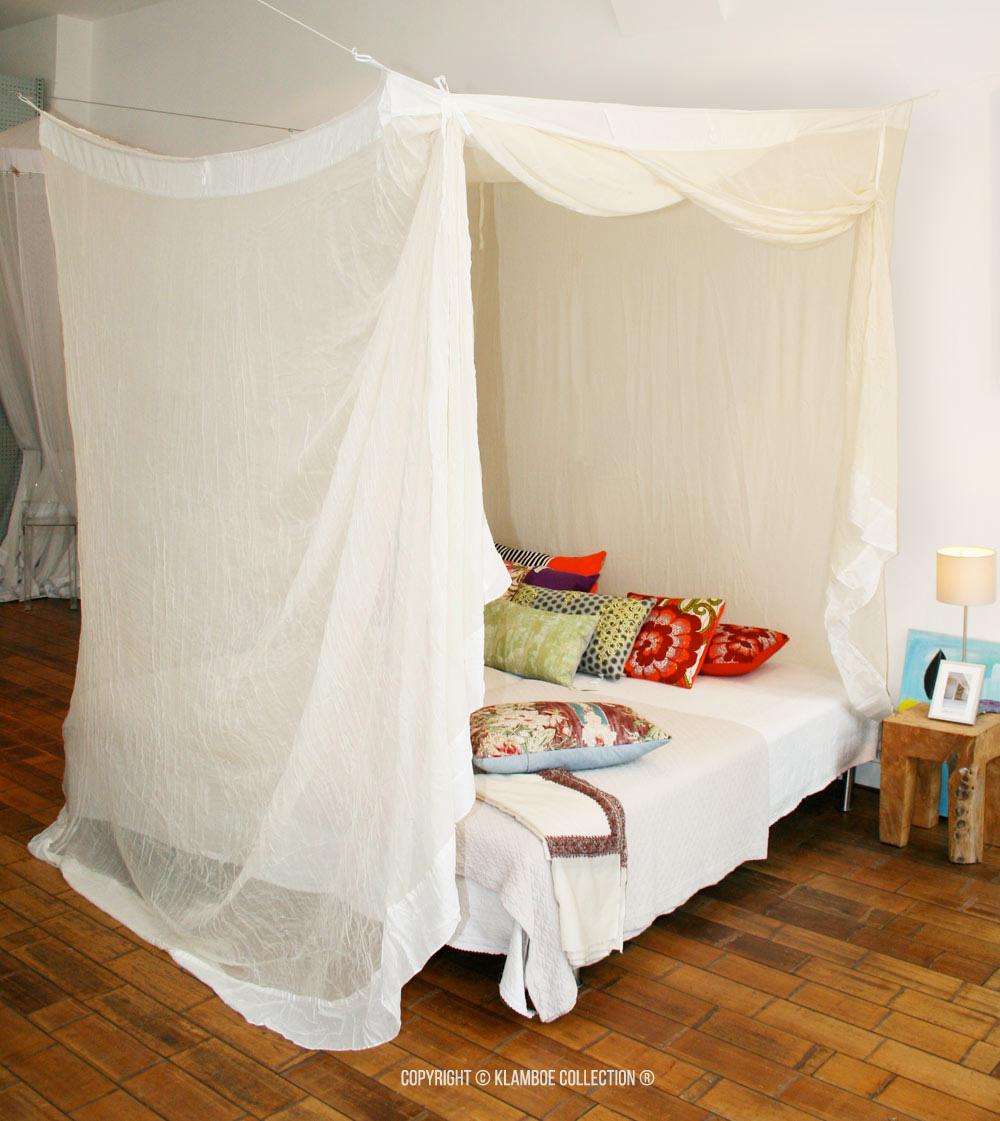 moustiquaires de lit klamboe collection. Black Bedroom Furniture Sets. Home Design Ideas